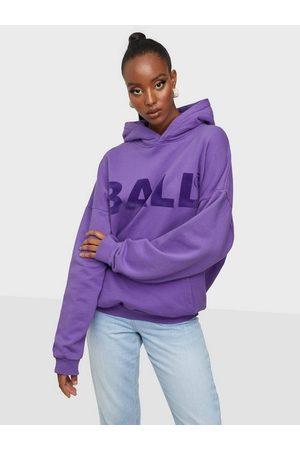 Ball Hammer Flock Hoodie Purple