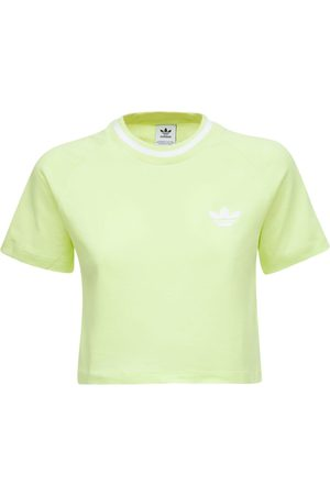 ADIDAS ORIGINALS Dame Kortermede - Cropped T-shirt