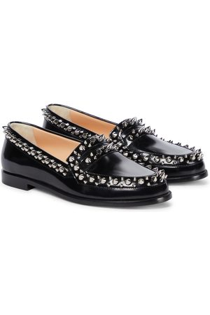 Christian Louboutin Mattia Spikes leather loafers