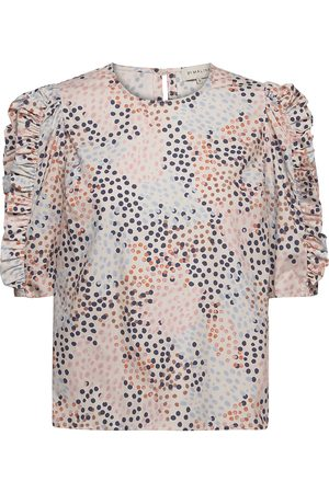 By Malina Dunia Blouse Blouses Short-sleeved Multi/mønstret