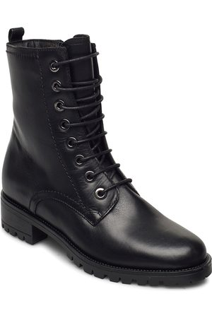 Dune Dame Skoletter - Prest Shoes Boots Ankle Boots Ankle Boot - Flat