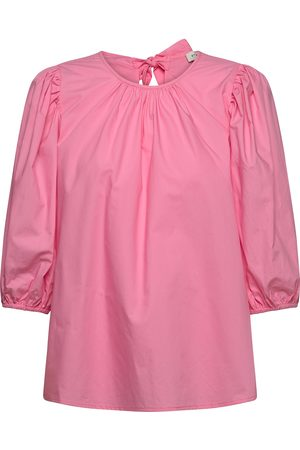 By Malina Dame Kortermede - Nina Blouse Blouses Short-sleeved