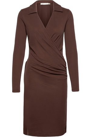 INWEAR Vedaiw Collar Dress Knelang Kjole