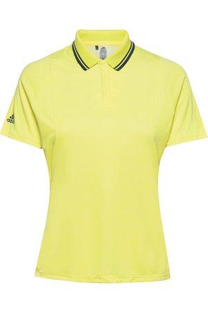 adidas H.Rdy Ss P T-shirts & Tops Polos Gul