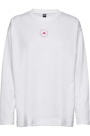 adidas Dame Langermede - Cotton Long Sleeve Tee W T-shirts & Tops Long-sleeved