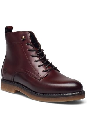 Timberland Cambridge Square Lace Up Bootie Shoes Boots Ankle Boots Ankle Boot - Flat