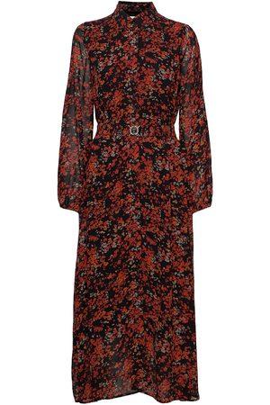 INWEAR Barbeliw Long Dress Knelang Kjole Multi/mønstret