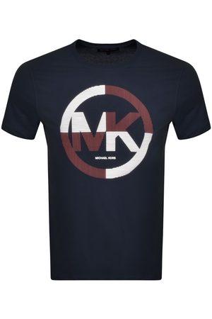 Michael Kors Short Sleeve Stripe Logo T Shirt