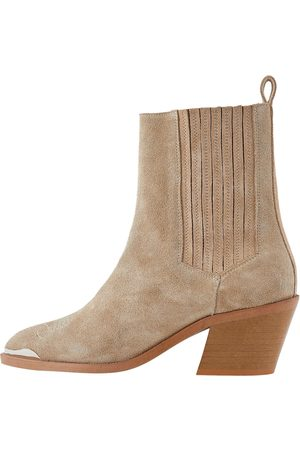 Y.A.S Ankle Boots 'Latte