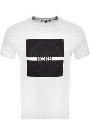Michael Kors Short Sleeve Split Logo T Shirt