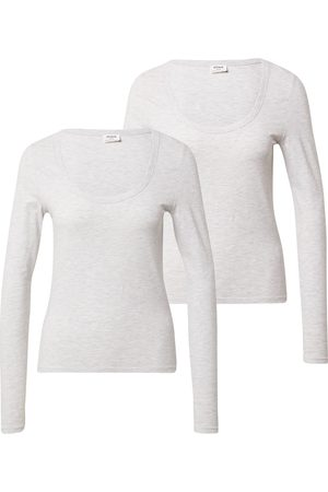 Cotton On Skjorte 'EVERYDAY SCOOPED LONG SLEEVE TOP - 2 PACK