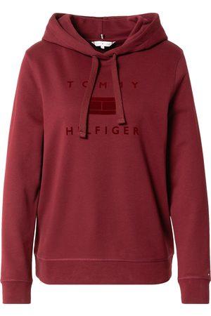 Tommy Hilfiger Sweatshirt 'REGULAR FLOCK HOODIE