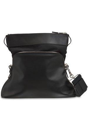 MAISON MARGIELA Herre Skuldervesker - Logo Embossed Leather Crossbody Bag
