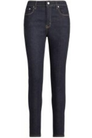 Ralph Lauren High-Rise Skinny Ankle Jeans
