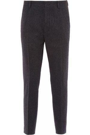 Prada Herre Chinos - Pinstripe wool trousers