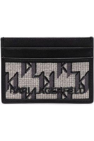 Karl Lagerfeld Herre Lommebøker - K/Monogram jacquard cardholder