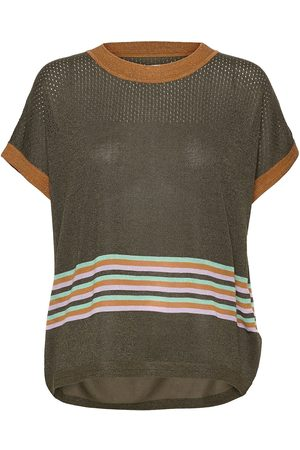 Nümph Nucarwen Darlene T-shirts & Tops Knitted T-shirts/tops Grønn