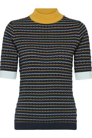 Nümph Nucarleigh Pullover Ss T-shirts & Tops Knitted T-shirts/tops Svart