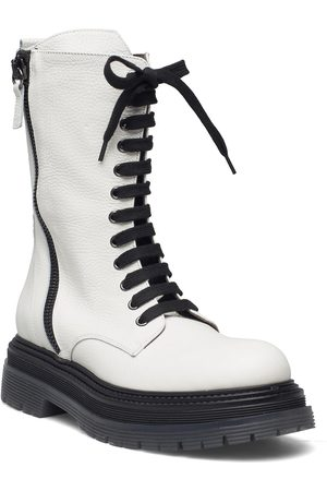 Laura Bellariva Boots Shoes Boots Ankle Boots Hvit