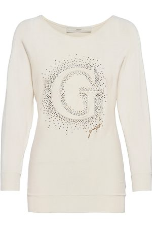 Guess Abby Rn Bateeve Swtr T-shirts & Tops Long-sleeved