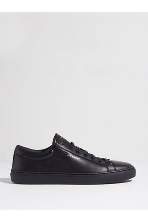 Jim Rickey Spin - Cow Leather Sneakers Black
