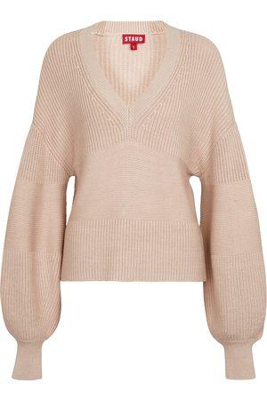 Staud Rye ribbed-knit sweater