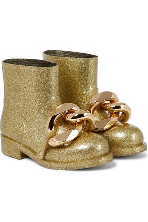 J.W.Anderson Dame Skoletter - Chain glitter ankle boots