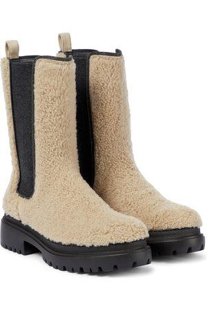 Brunello Cucinelli Shearling Chelsea boots