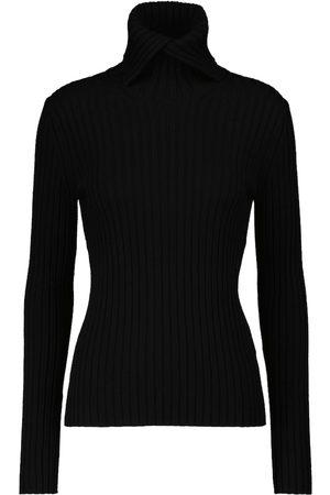 Dorothee Schumacher Dame Pologensere - Ribbed Softness wool turtleneck sweater