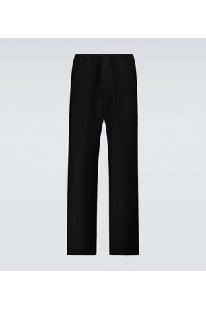 Acne Studios Straight-fit wool and mohair pants