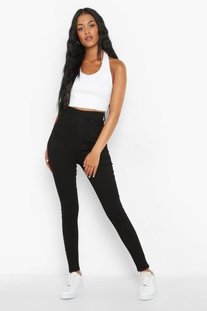 Boohoo Tall Ruched Bum Booty Boost Denim Jegging