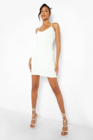 Boohoo Corset Dress