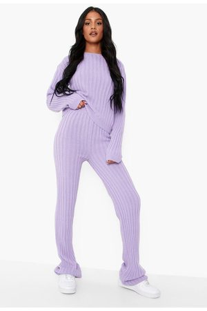Boohoo Tall Knitted Jumper And Trouser Co-ord