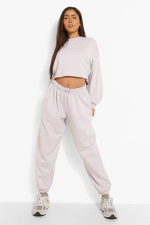 Boohoo Oversized Embroidered Woman Joggers