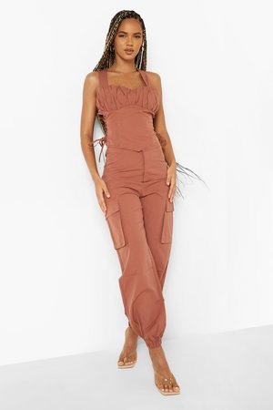 Boohoo Relaxed Fit Cargo Trousers
