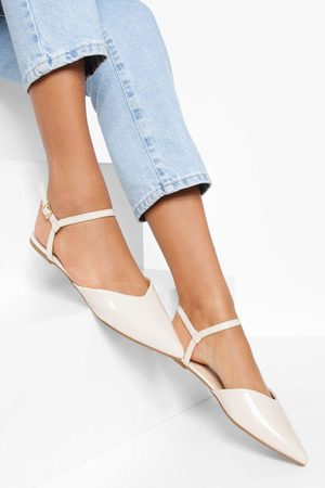 Boohoo Wide Fit 2 Part Pointed Ballerina