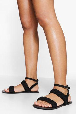 Boohoo Double Plait Sandal