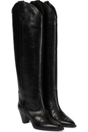Isabel Marant Lihana leather knee-high boots
