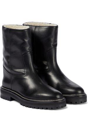 Jimmy Choo Yari leather ankle boots