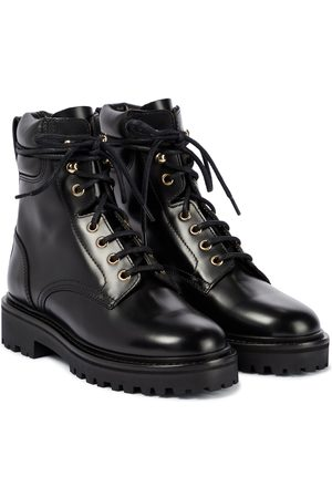 Isabel Marant Campa leather combat boots