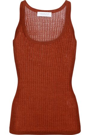 Gabriela Hearst Nevin cashmere and silk tank top