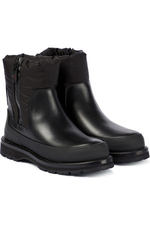 Moncler Rain Don't Care leather ankle boots