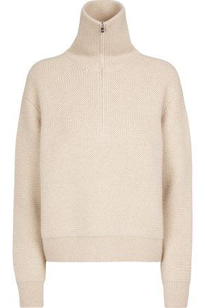 Loro Piana Dame Strikkegensere - Borgonuovo cashmere sweater