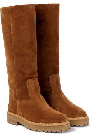 Jimmy Choo Dame Høye støvletter - Yomi knee-high suede boots
