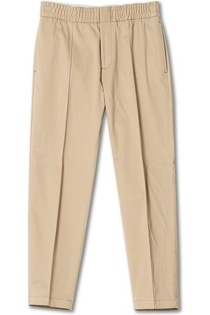 Tiger of Sweden Herre Chinos - Sosa Brushed Cotton Trousers Cement