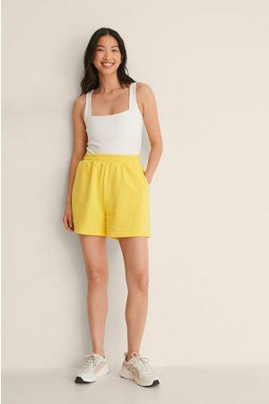 NA-KD Dame Shorts - Organisk Shorts Med Elastisk Liv