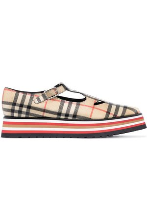 Burberry Aldwych 45mm check pumps