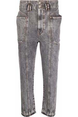 Isabel Marant High-rise cropped jeans