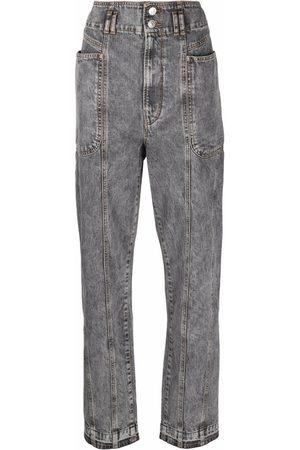 Isabel Marant Stonewash balloon-leg jeans
