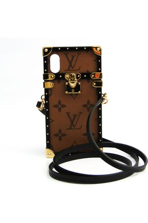 LOUIS VUITTON Pre-owned Monogram Reverse Phone Rugged Case For IPhone X Eye trunkM62619